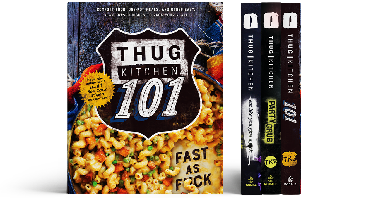 d91759bf5 All Books. Grab the official bestselling Thug Kitchen ...