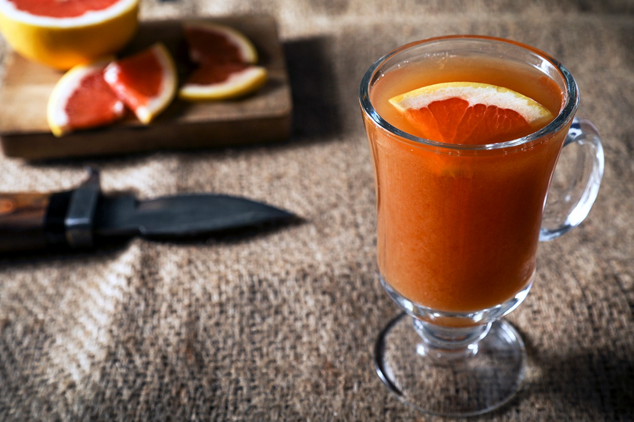 Grapefruit Hot Toddy - Thug Kitchen