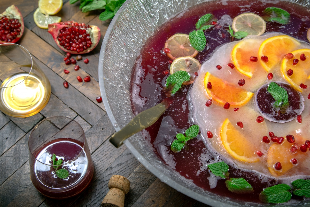 Sparkling Pomegranate Punch Recipe - Thug Kitchen