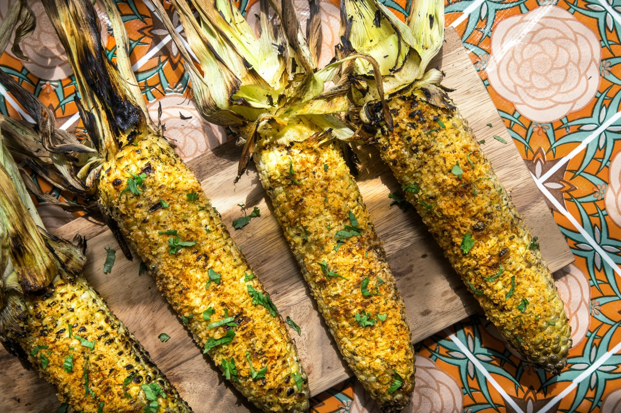 Mexican Style Grilled Corn aka Elote
