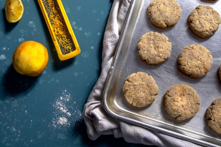 Citrus Poppy Seed Cookies - Thug Kitchen