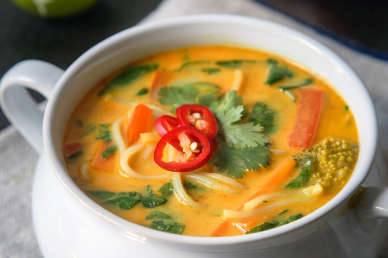 Coconut Curry Soup - Thug Kitchen