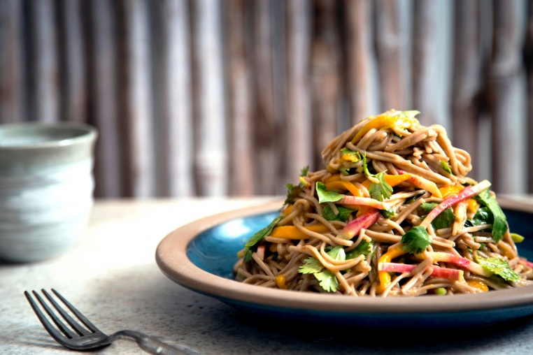Cold Mango Soba Noodle Salad - Thug Kitchen