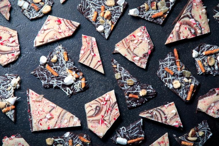 Candy Cane Winter Bark