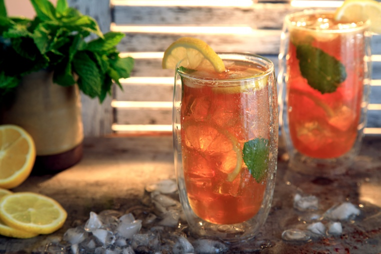 SPIKED SUMMERTIME SWEET TEA
