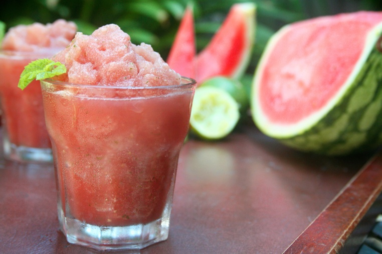Watermelon Cucumber Slushie - Thug Kitchen