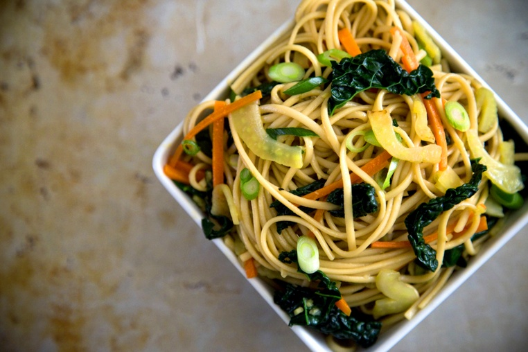 Winter Vegetable Stir Fry - Thug Kitchen