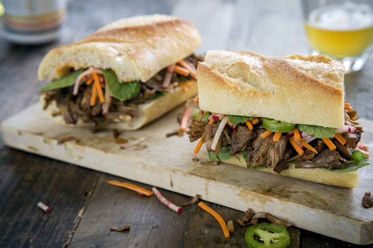 Jackfruit Banh Mi - Thug Kitchen
